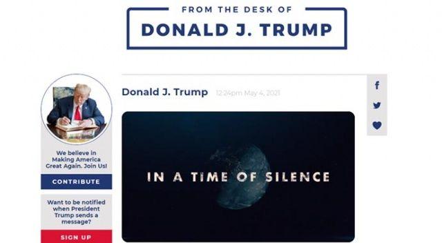 Trump, kendisine özel sosyal iletişim platformu kurdu