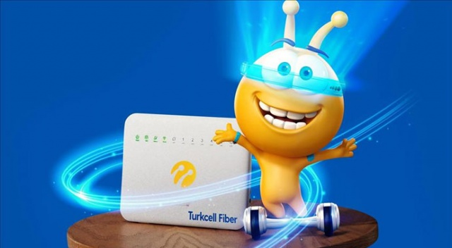Turkcell'den K.maraş'ta 100 bin haneye fiber  internet