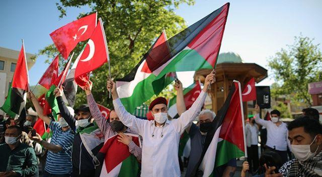 Türkiye, İsrail zulmüne karşı tek yürek