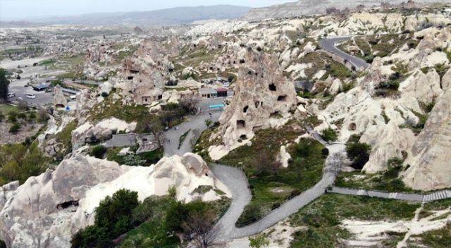Türkiye'nin en çok ziyaret edilen Göreme Açık Hava Müzesi boş kaldı