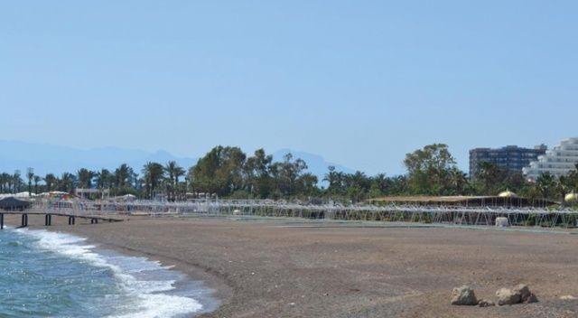 Yüzlerce otele ev sahipliği yapan Kundu' da sessizlik hakim