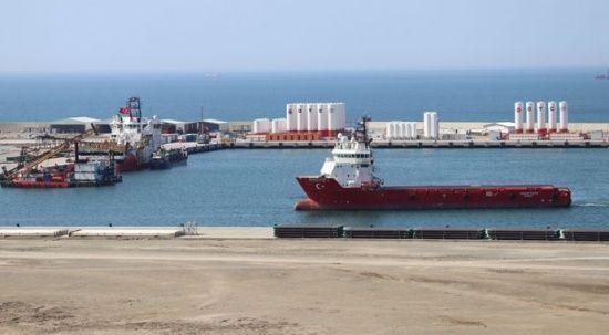 'Barbaros Hayrettin Paşa' sismik araştırma gemisi Filyos Limanı'nda