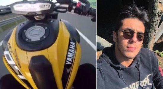 'Tek teker' üzerinde feci ölüm! 22 yaşındaki genç hayatını kaybetti