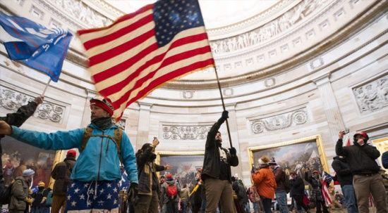 ABD'de Kongre baskınına katılanlar ordu bağlantılı çıktı