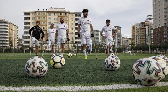 Ampute Futbol Milli Takımı Ankara'da kampa girdi