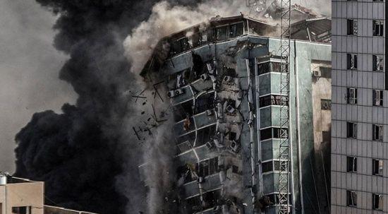 AP muhabiri İsrail'in medya binası saldırısını anlattı