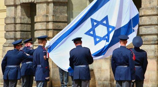 Çekya'dan İsrail zulmüne 'bayraklı' destek