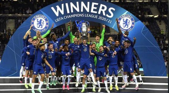 Chelsea, UEFA Şampiyonlar Ligi kupasının sahibi oldu