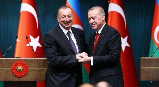 Cumhurbaşkanı Erdoğan'dan Aliyev'e Cumhuriyet Günü tebriği