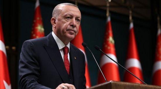 Cumhurbaşkanı Erdoğan ile Libya Başbakanı arasında Filistin görüşmesi