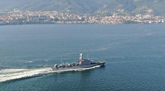 Denizkurdu'na millî füzeler damga vurdu