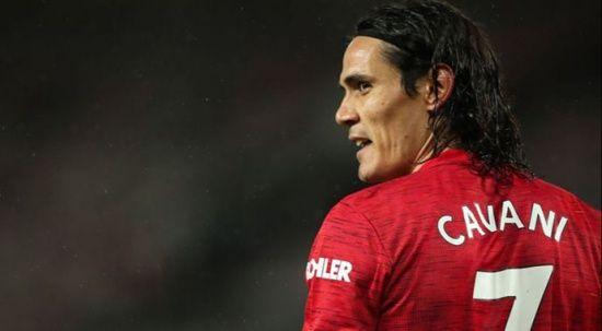 Edinson Cavani 1 sene daha Manchester United'da