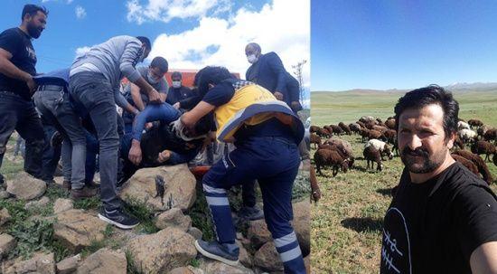 Erzurum'da feci kaza! Kendi aracının altında kalarak öldü