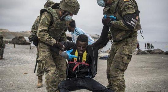 Fas sınırı kapattı! İspanya'ya mülteci göçü kesildi