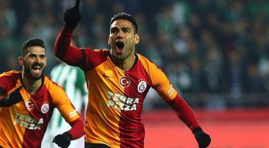 Galatasaray'da Falcao kadroda yer almadı