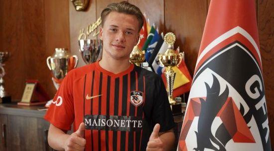 Gaziantep FK, Vladyslav Kobylianskyi ile 5 yıllık imzayı attı