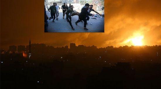 Gazze bombardıman altında: İşgalci İsrail saldırılarını sürdürüyor
