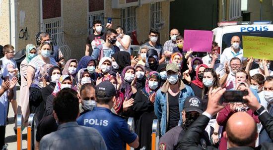 İBB Başkanı Ekrem İmamoğlu'na protestoda arbede!