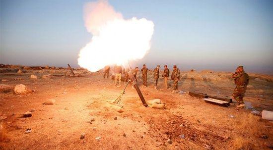 Kerkük sınırı yakınında DEAŞ'tan Peşmerge'ye saldırı