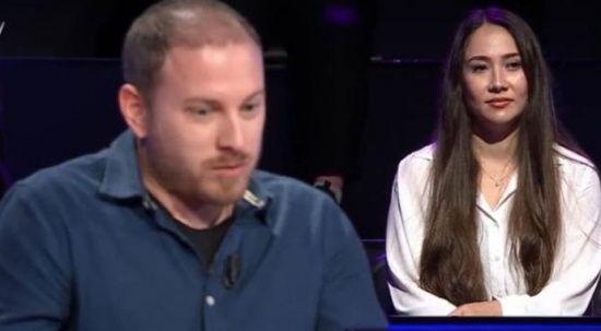 Kim Milyoner Olmak İster'de romantik anlar! Yarışmacı, sevgilisine evlilik teklifi etti