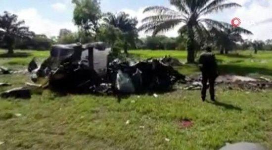 Kolombiya'da acı olay! Polis helikopteri düştü