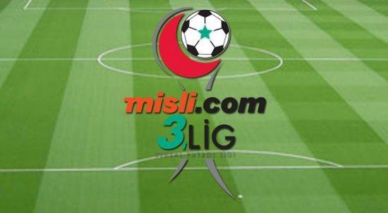 Misli.com 3. Lig play-off yarı final eşleşmeleri belli oldu