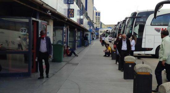 Otogarda bilet karmaşası: Biletler tükendi