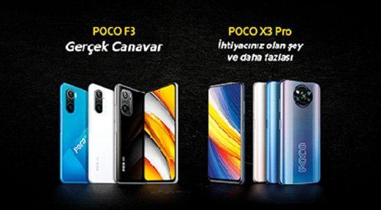 POCO'dan iki yeni model: POCO F3 ve POCO X3 Pro
