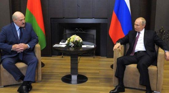 Putin'den, Belarus'a 'uçak krizi' desteği