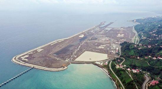 Rize-Artvin Havalimanı'nda altyapı çalışmalarının % 90'ı tamamlandı