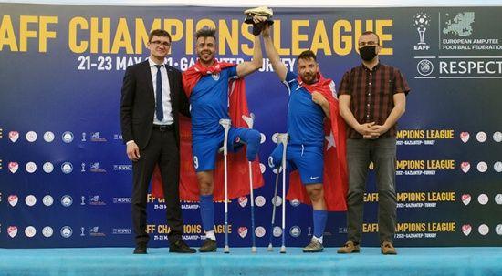 Şahinbey Ampute, Şampiyonlar Ligi şampiyonu oldu