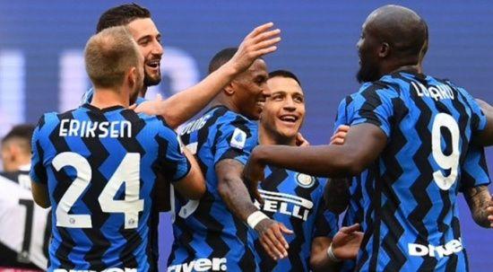 Şampiyon Inter kupasına kavuştu
