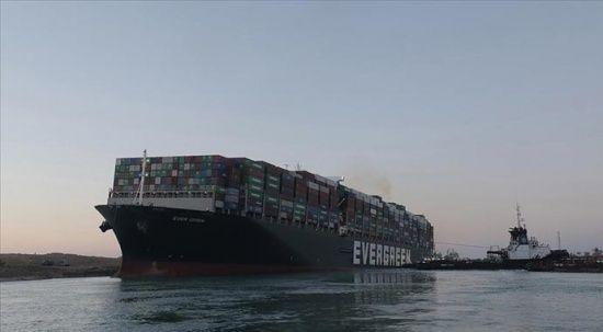 Süveyş'i tıkayan geminin sahibi Japon firma tazminatı navlun sahipleriyle paylaşmak istiyor