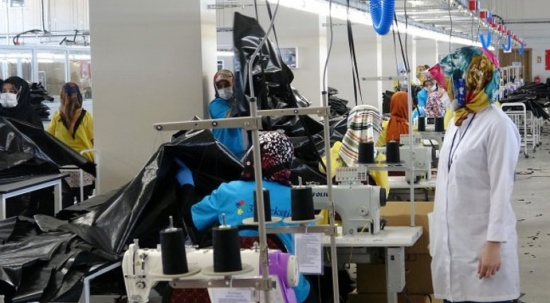 Tekstil ürünlerinde rekor üretim