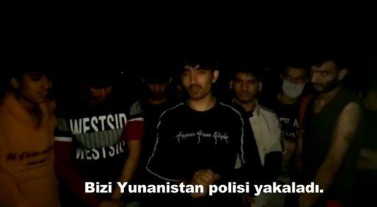 Yunanistan'ın zulmettiği 42 göçmene Türkiye sahip çıktı