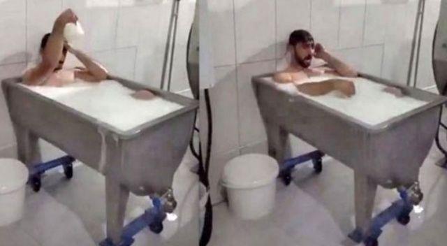 'Süt banyosu' davasında gelişme: Rezaleti böyle savundu