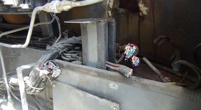 100 liralık kablo için 15 bin liralık zarar verdiler