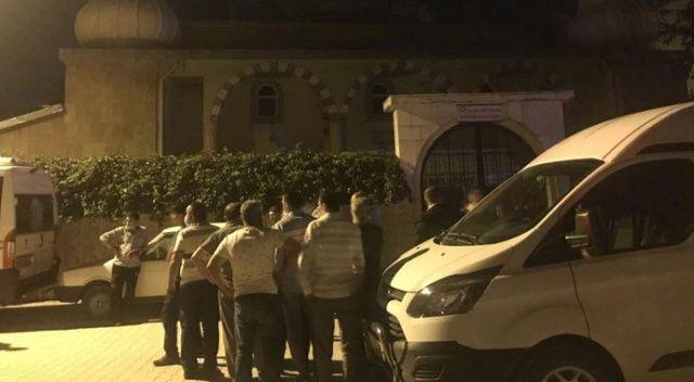23 yaşında iki çocuk babası adam cami avlusunda ölü bulundu