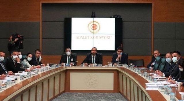 4'üncü Yargı Paketi, Adalet Komisyonu'nca kabul edildi