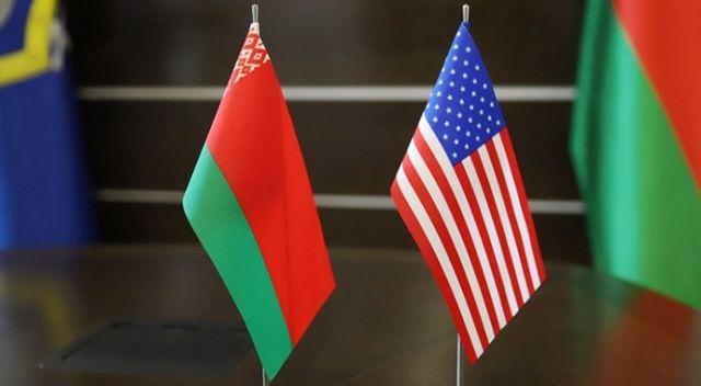 ABD'den Belarus'a sert yaptırım!