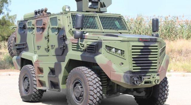 Afrika'nın güvenliği Türk zırhlı araçlarına emanet