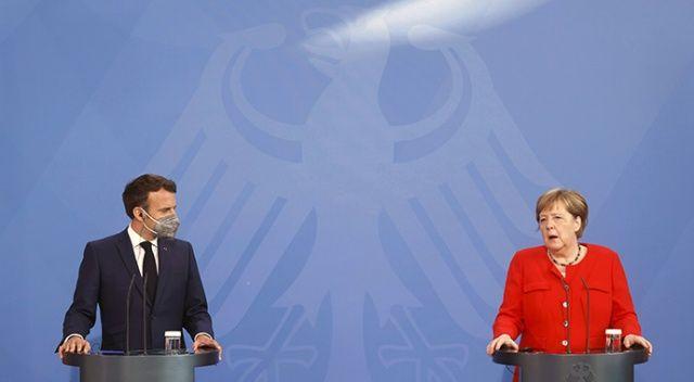 Almanya Şansölyesi Merkel: Türkiye'ye bağımlıyız
