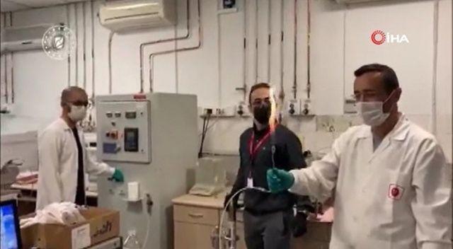 Amasra-1 kuyusunda bulunan doğalgaz test edildi