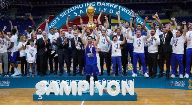 Anadolu Efes şampiyon oldu