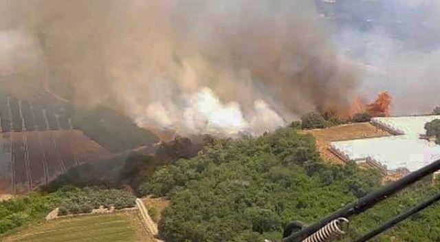 Antalya'da yangınlar sürüyor!