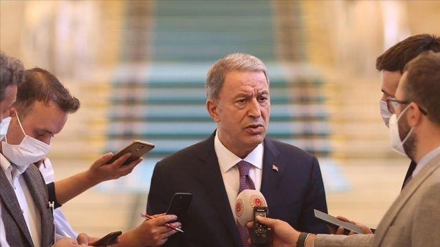 Bakan Akar'dan Kabil Havaalanı açıklaması