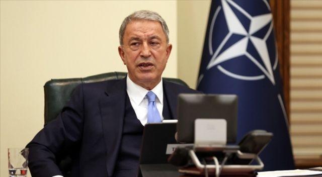 Bakan Akar'dan NATO zirvesi öncesi s400 mesajı