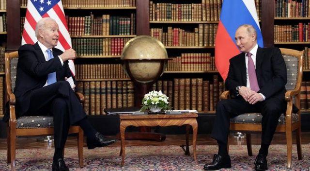 Biden görüşmesi sonrası Putin'den açıklama