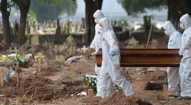 Brezilya'da Covid-19 nedeniyle ölenlerin sayısı 500 bini aştı