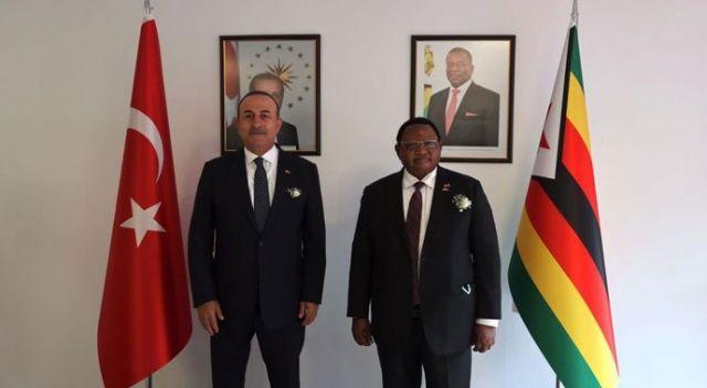 Çavuşoğlu: Amacımız tüm Afrika ülkelerinde büyükelçilik açmak